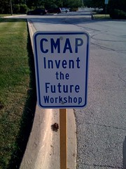Geneva Invent the Future Workshop sign