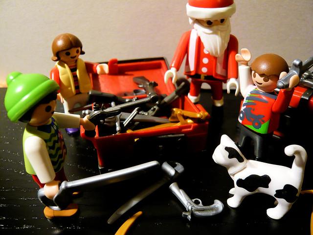 Merry Christmas kids // Joyeux Noël les enfants
