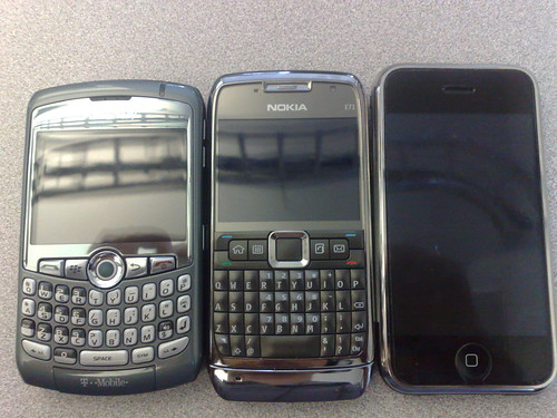 BB Curve, E71 and iPhone