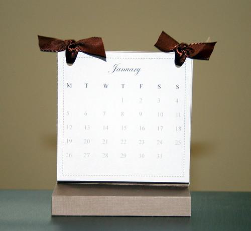 Creativity Prompt #31 \u2013 Make A Free Standing Calendar Creativity