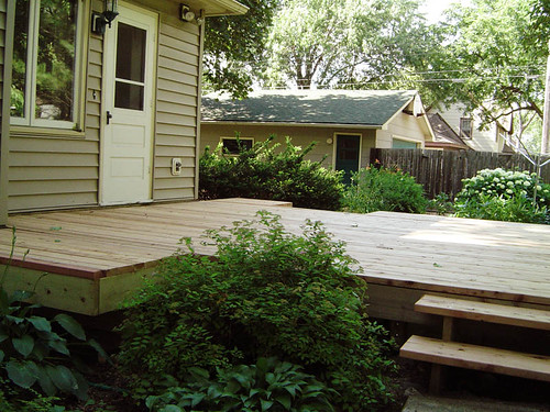 Deck Boards: Spacing Redwood Deck Boards