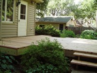 Deck Boards: Spacing Redwood Deck Boards
