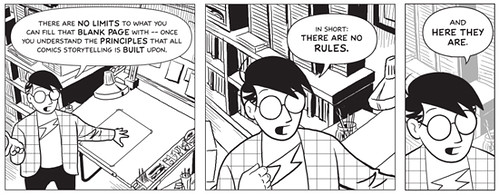 Making Comics - There Are No Rules