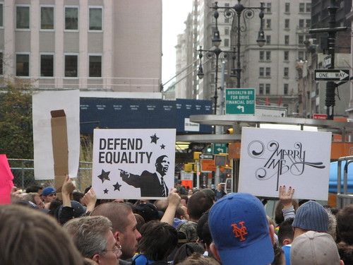 Protest Against Prop 8
