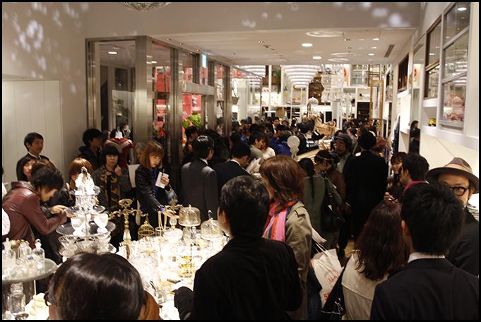 2010.04.27 Pass The Baton Omotesando Store Opening Party 36