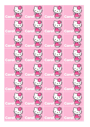 Customized and Printable Hello Kitty Stickers - a photo on Flickriver