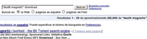 Death Magnetic en google