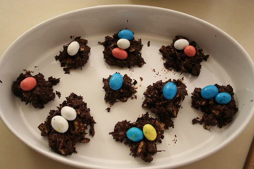 birds nests, a la nigella