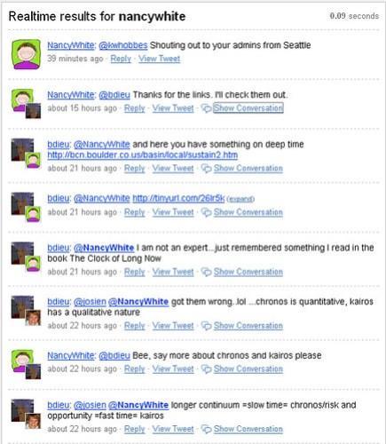 Slow Community Tweets 1