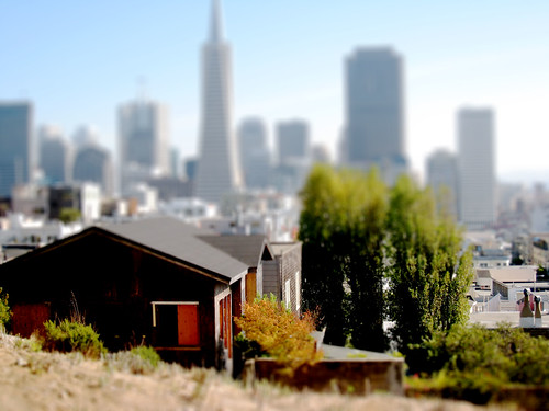 Telegraph Hill Tilt Shift