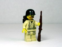 US Army Sergeant with M1 Garand on Flickr