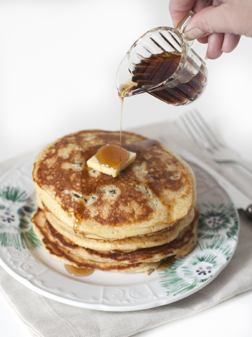 date & fig pancakes