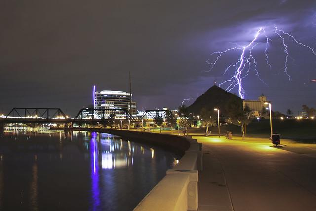 Town Lake Lightning