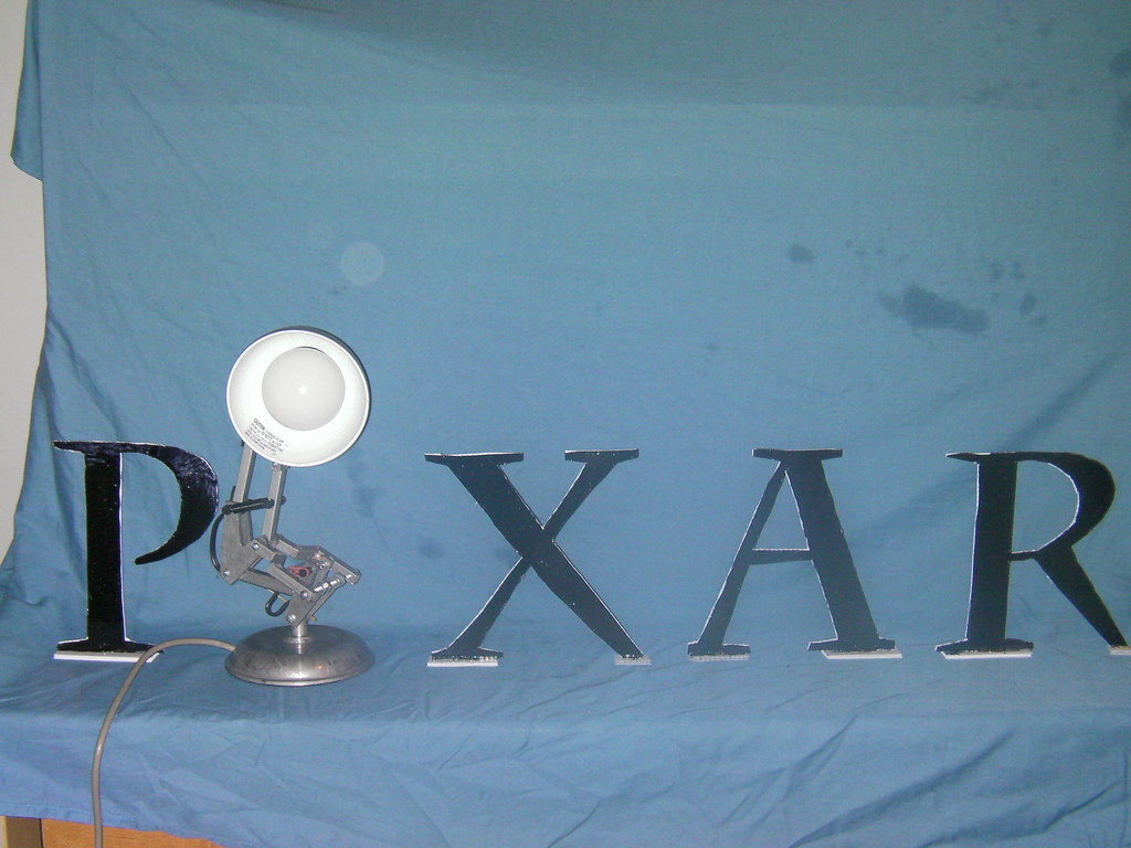Pixar Desk Lamp The World 39s Best Photos Of Animation And Luxo Flickr