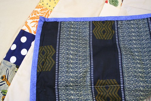 African wedding quilt completed