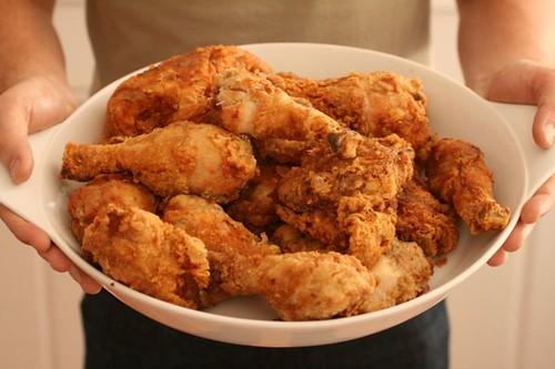 Fried Chicken Cook-off: Thomas Keller vs. My Mom