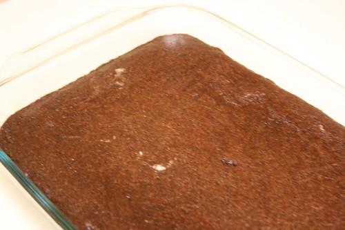 Vegan brownies, new recipe