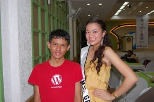 Kevin Paquet and Miss Gensan