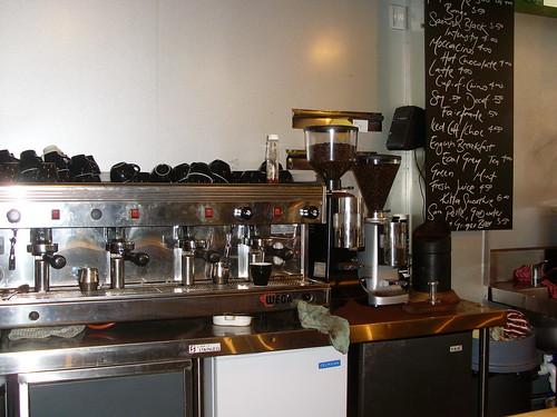 Joes Garage Coffee Machine