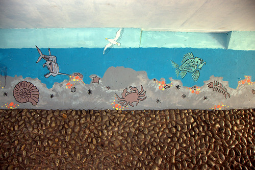 Mural in Exmouth Underpass