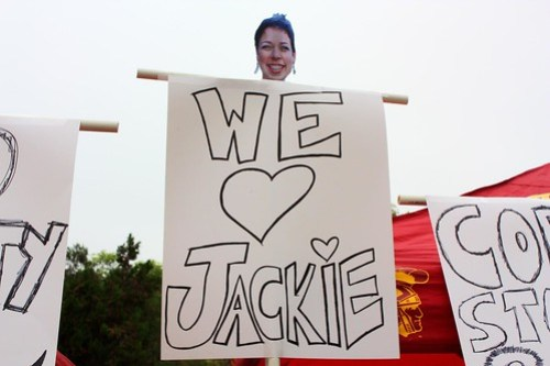 Who DOESN'T love Jackie?!