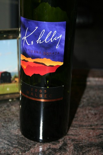 Kolberg: Best wine in the world. Love this Malbec
