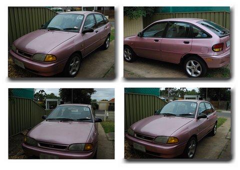 My Pink Car!