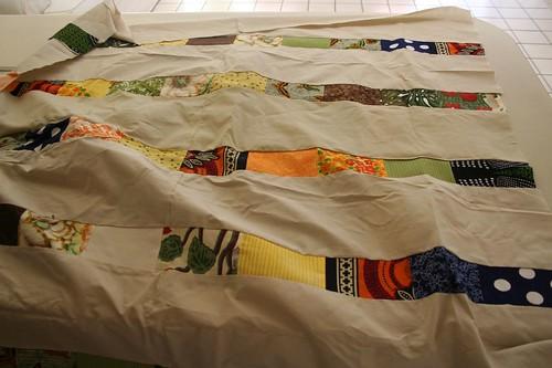 African wedding quilt