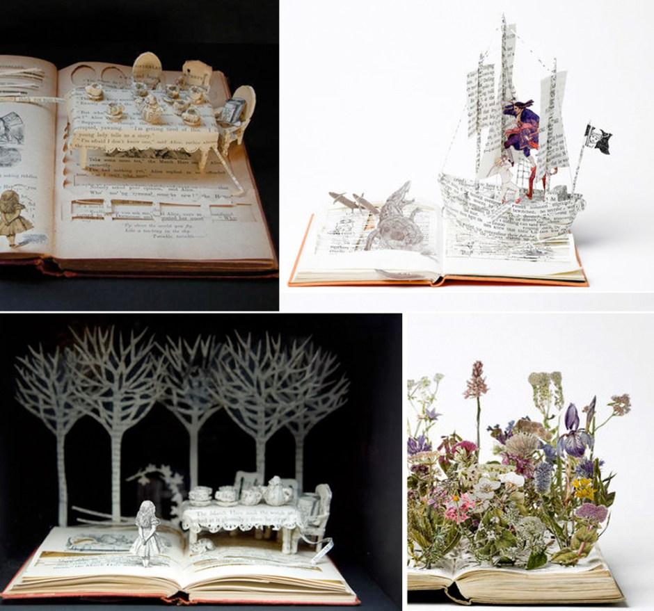 Artistic + Inspiring: Altered Books