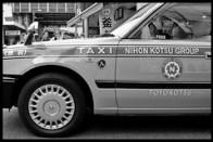 Taxi in Shimo-Kitazawa