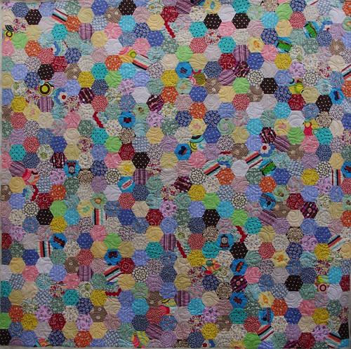 Jessie's Hexagon Quilt