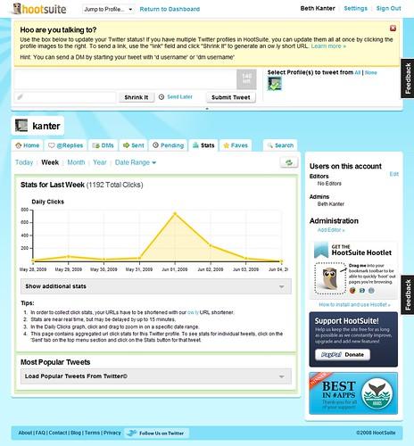 HootSuite Stats