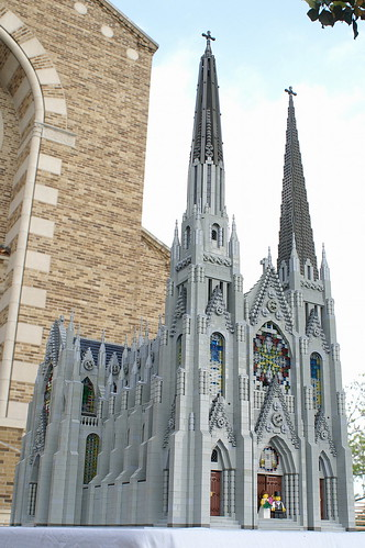Lego Cathedral St. Francis of Assisi