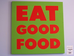 sawicki&#39;s eat good food sign