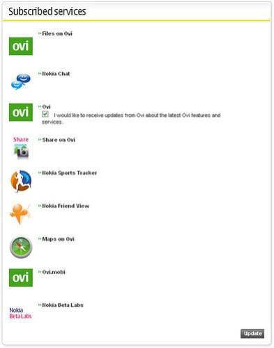 Nokia Account Configuration