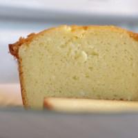 Ricotta Vanilla pound cake...