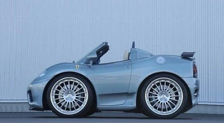 Mini Ferrari 360 Spider