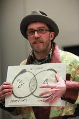 Dave Olson at SXSW F@ck Stats Make Art 2008