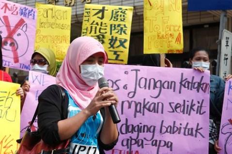 最溫良恭讓的印尼女性家務工站出來為自己的權益發聲