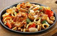 TGIF Fridays Sizzling Cajun Seafoods