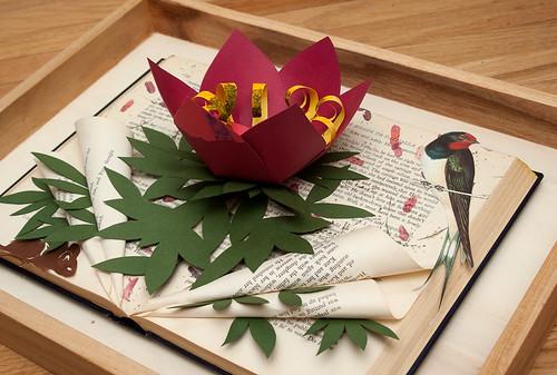 Altered Book Thumbelina