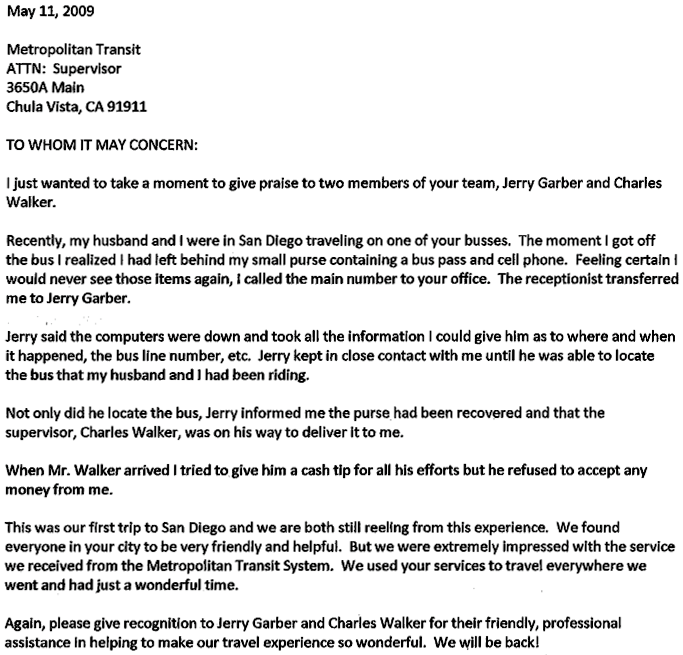 Follow Up Letter – Sample Follow Up Letter