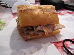 sawicki's roast pork sandwich