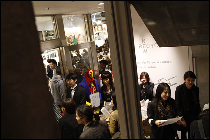 2010.04.27 Pass The Baton Omotesando Store Opening Party 40