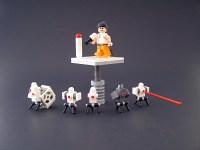 LEGO Portal 2: Chell & turrets : Portal