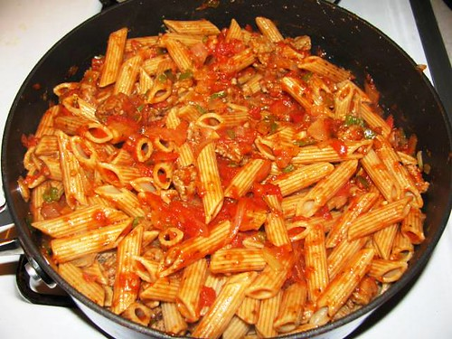Turkey Sausage & Pasta Bake 6