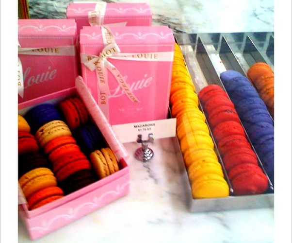 at louie - swoon for the macaroons!