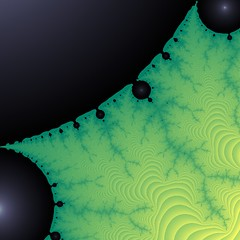 Lyapunov exponents of the Mandelbrot set (Stee...