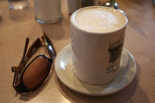 good morning, latte at La Bellavia