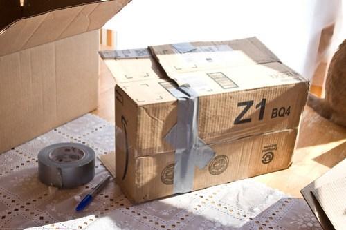 DIY Solar Oven: interior box
